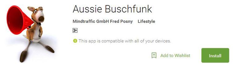 Aussie Buschfunk App